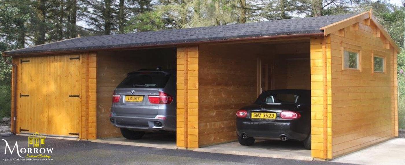 Timber Garages and Workshops for sale in Northern Ireland